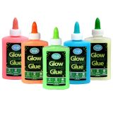 Glow in the Dark glue 147ml assorted colours