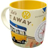 Nostalgic-Art Mug VW Bulli - Let's get Away