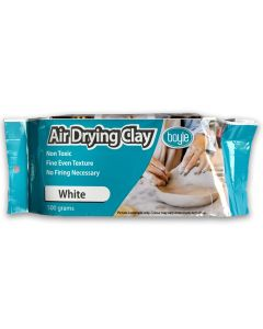 White Air Drying Clay 500gm