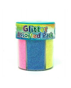 Glitter Assorted Colour Pack 75g