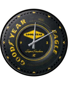 Nostalgic Art Good Year Wheel Wall Clock 30cm