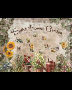 Nostalgic-Art Magnet Board English Flowers