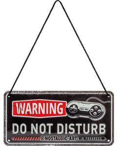 Nostalgic-Art Hanging Sign Gaming - Do Not Disturb