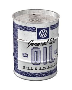 Nostalgic-Art Money Box Oil Barrel VW General Use Oil