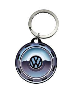 Nostalgic-Art Keyring Round VW Wheel