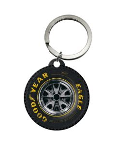 Nostalgic-Art Keyring Round Goodyear Wheel