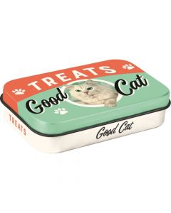 Nostalgic-Art Pet Treat Box - Good Cat Treats