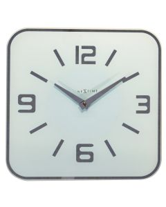 NeXtime Shoko Wall Clock White