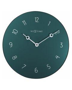 NeXtime Carousel Wall Clock 40cm Green