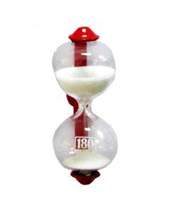 Dulton Magnetic Sandglass Kitchen Timer Red
