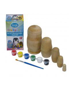 Nesting Doll Pk5 Paint Set