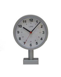 Leni Station Clock 20cm Silver