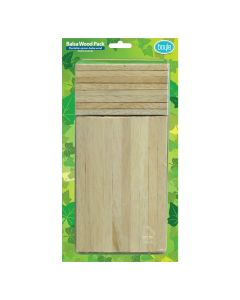 Balsa Wood Craft Stick Pack